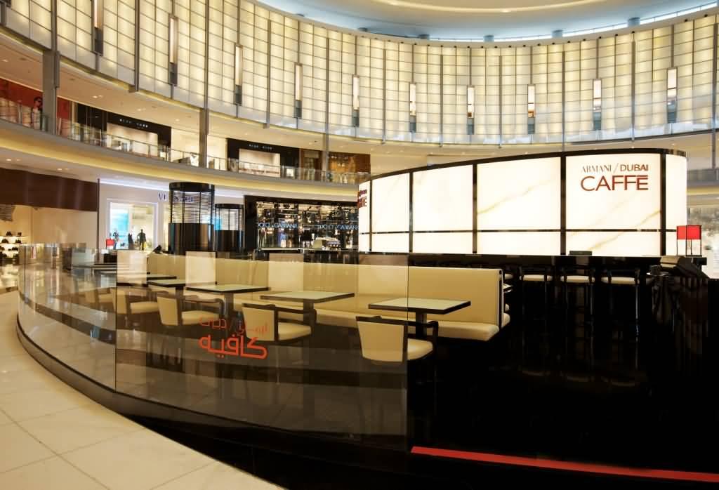 Arman cafe for Gucci hotel dubai