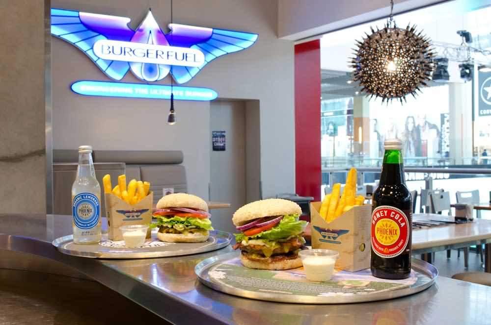 مطعم برجر فيول Burger fuel