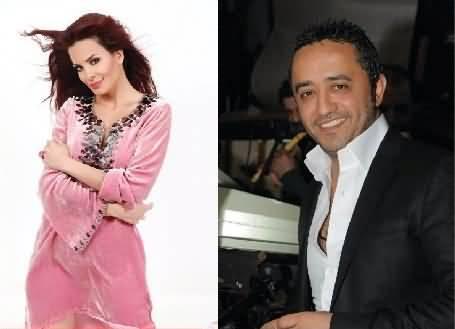 Photo of علي الديك ودومينيك حوراني بجزيرة ياس ليلة رأس السنة