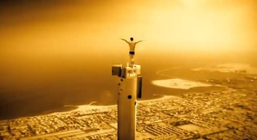 Photo of ترقبوا قفزة ليلة راس السنة من قمة برج خليفة