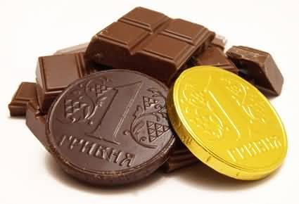 Photo of أكبر قطعة نقدية مصنوعة من الشوكولاته