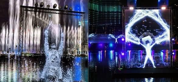 صورة تمديد عرض شعلة المياه بنافورة دبي حتى نهاية مهرجان دبي للتسوق