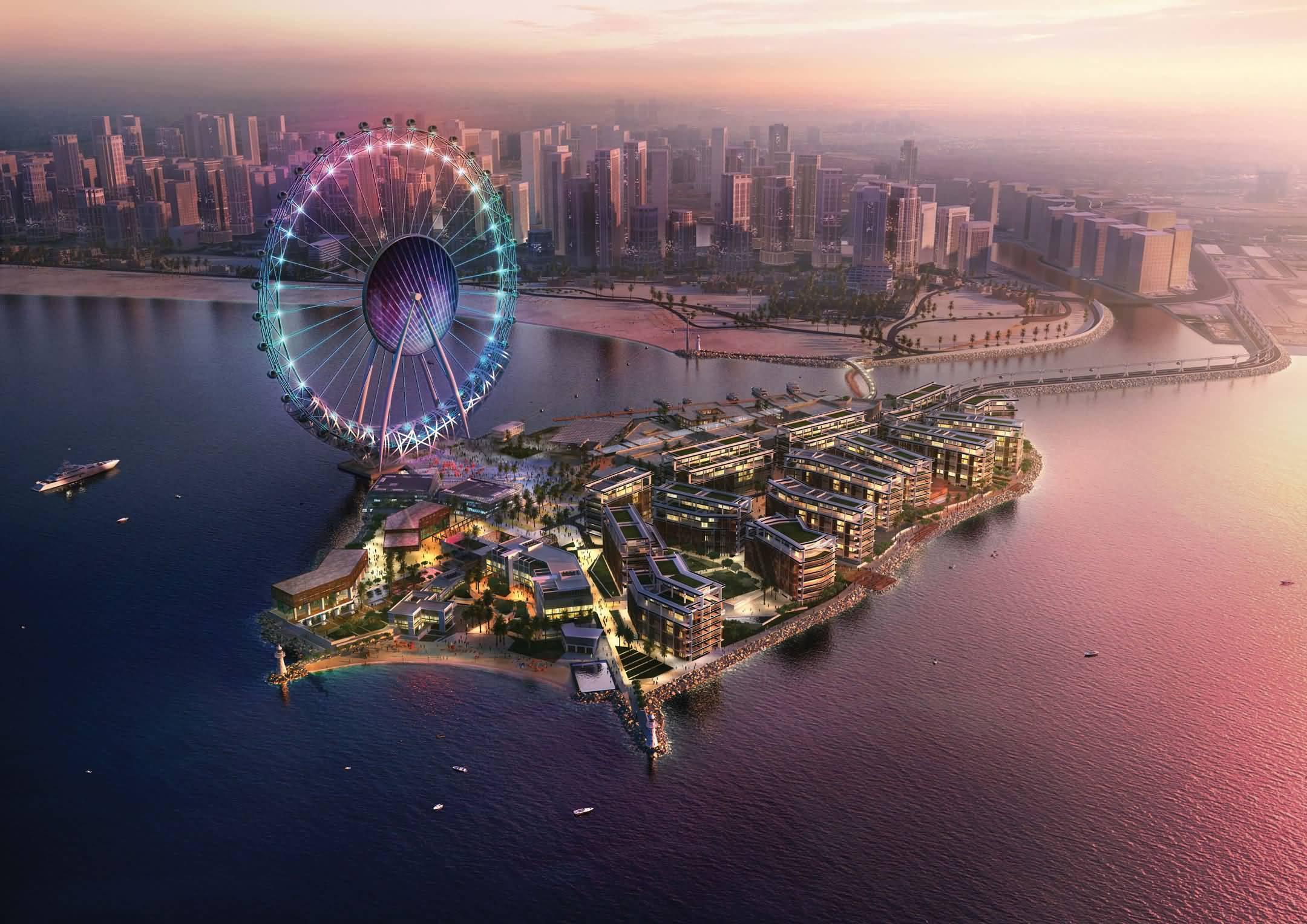جزيرة بلوواترز ومشروع DUBAI EYE الوجهة السياحية الأكبر من نوعها في العالم