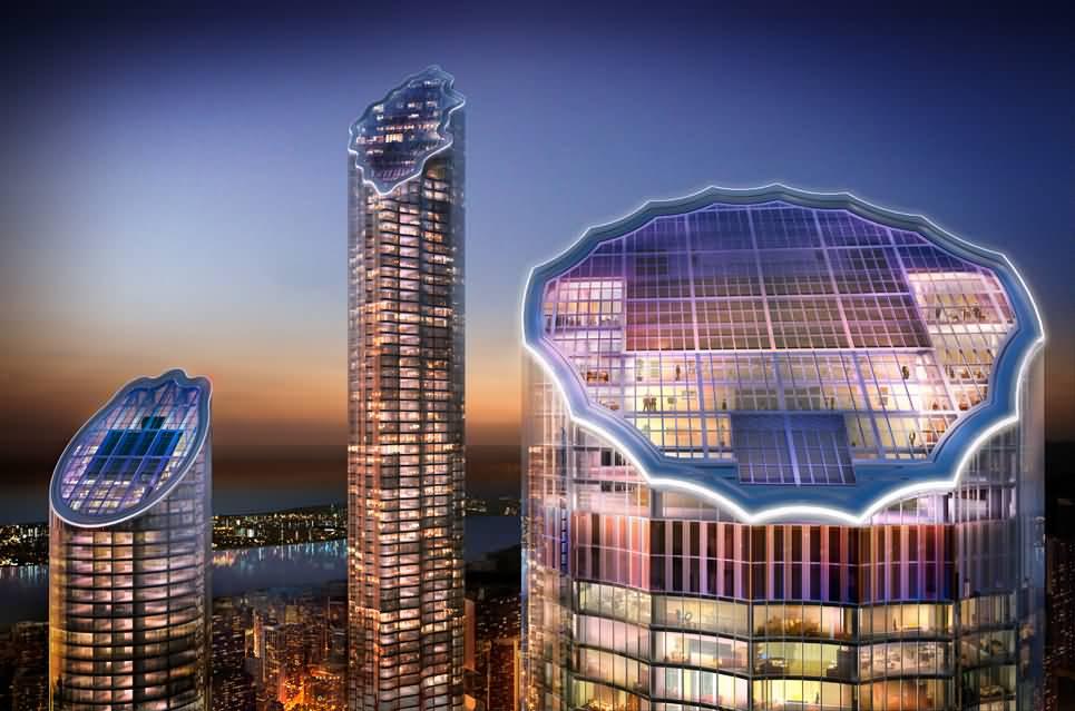 صورة ترست تاور .. أعلى برج مكتبي في العاصمة الإماراتية أبوظبي