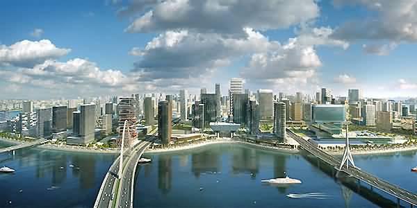 جزيرة المارية أبرز مناطق الأعمال بأبوظبي