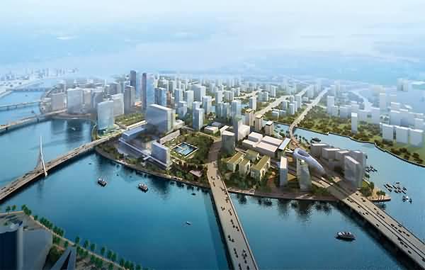 صورة جزيرة المارية أبرز مناطق الأعمال بأبوظبي