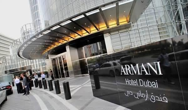 Photo of أرماني يحصد جائزة أفضل فندق عصري في دبي
