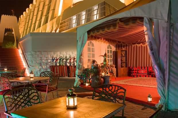 مطعم الخيمة في رمضان