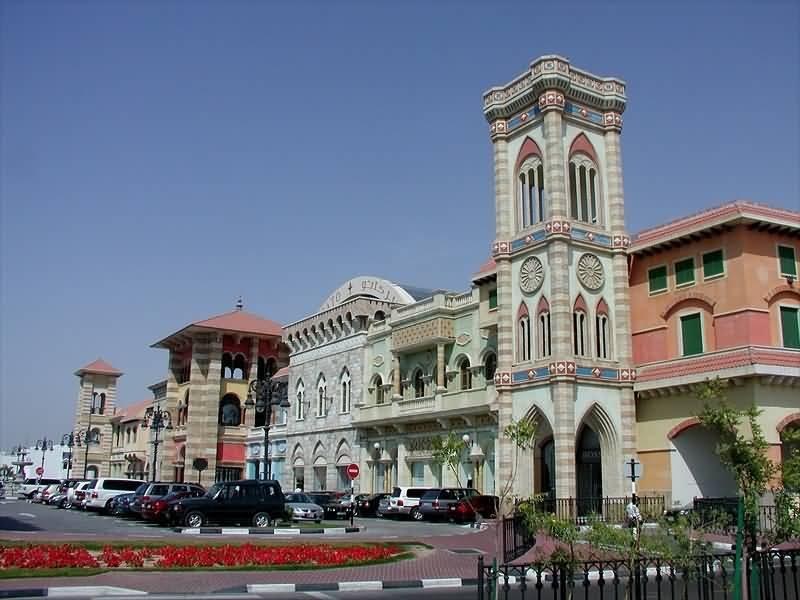 مركز ميركاتو مول … تحفة المعمار الايطالي بوسط مدينة دبي