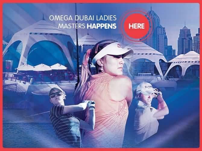 صورة بطولة أوميغا دبي ليديز ماسترز للغولف ديسمبر المقبل
