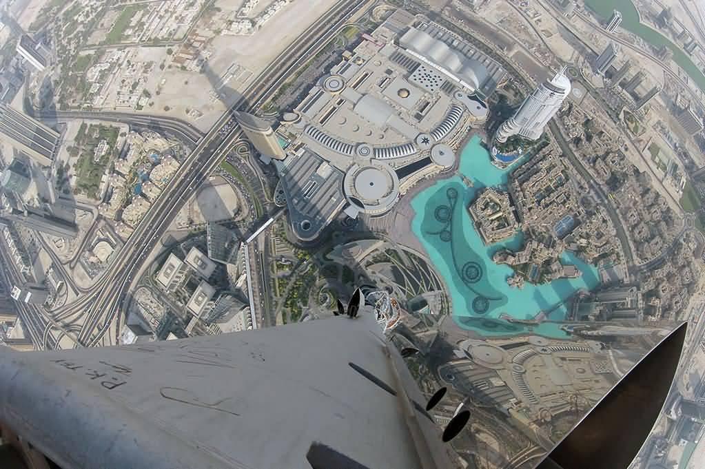 Photo of بالفيديو .. مدخل قمة برج خليفة