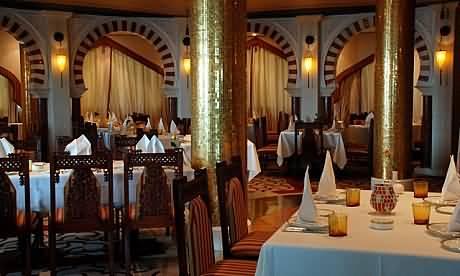 مطعم الخيال .. ضيافة عربية أصيلة