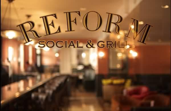مطعم ريفورم أند سوشال غريل للمأكولات البريطانية – منطقة البحيرات السكنية