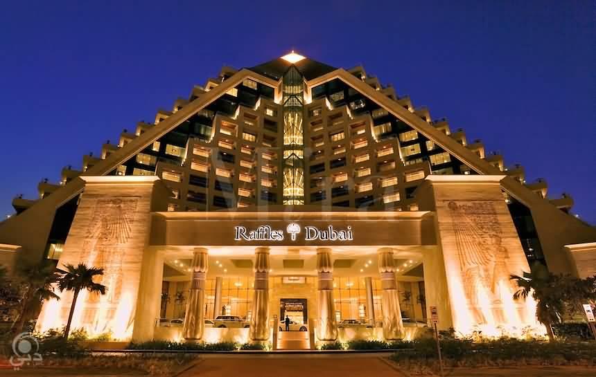 فندق رافلز دبي – شارع الشيخ راشد