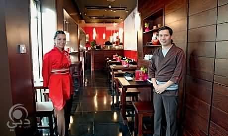 مطعم هونياكي للمأكولات اليابانية – سوق مدينة جميرا