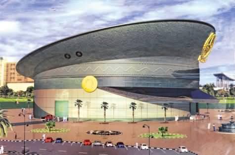 Photo of متحف شرطة دبي الجديد على شكل قبعة شرطية ضخمة