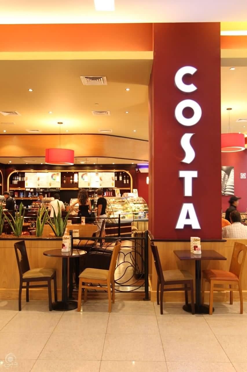 مقهى كوستا كوفي للمشروبات و المأكولات الخفيفة – القرهود