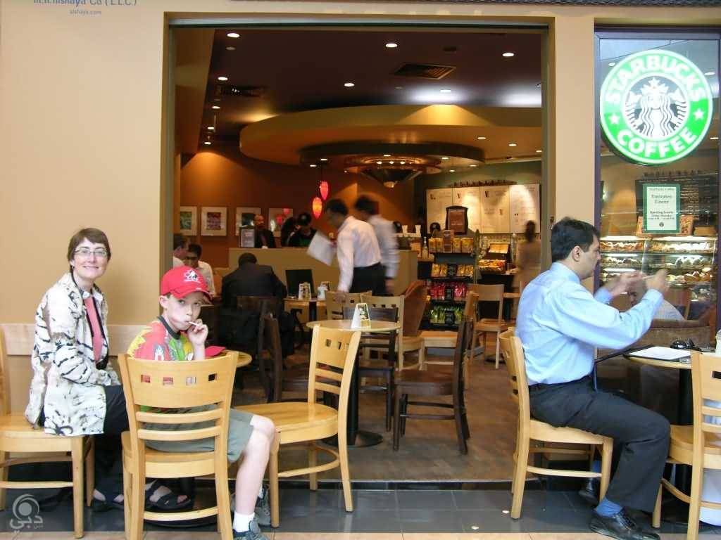 مقهى ستاربكس للمشروبات و المأكولات الخفيفة – دبي مارينا