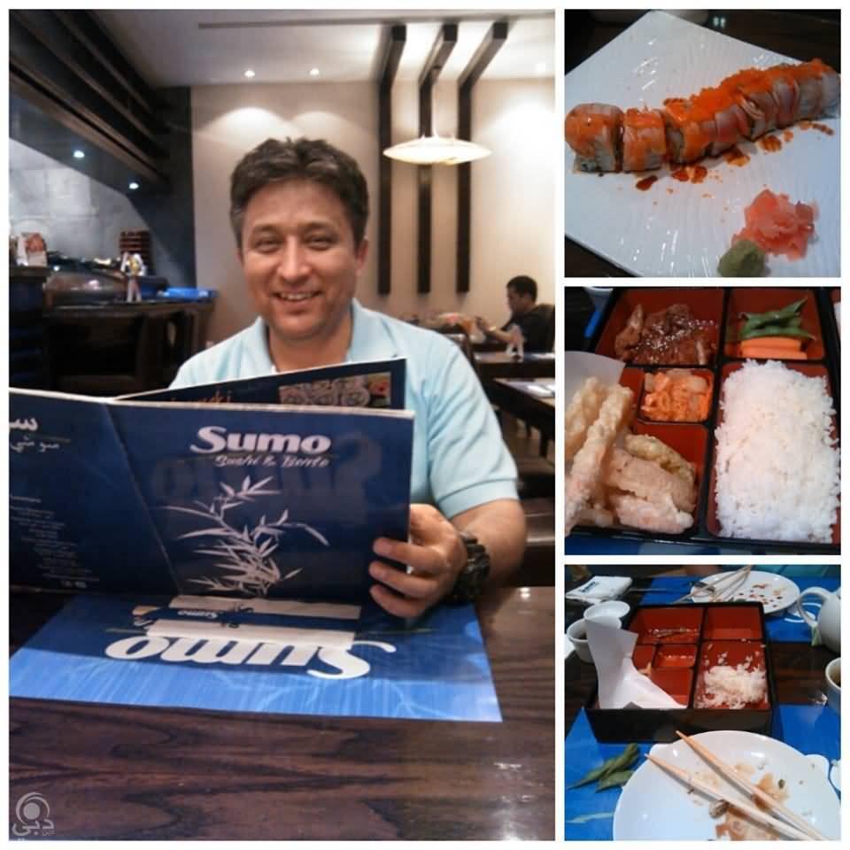 مطعم سومو سوشي أند بنتو للمأكولات اليابانية – جميرا 1