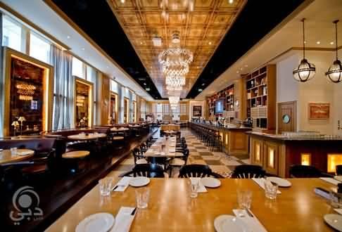 مطعم ذا جراميرسي للمأكولات العالمية – مركز دبي المالي العالمي