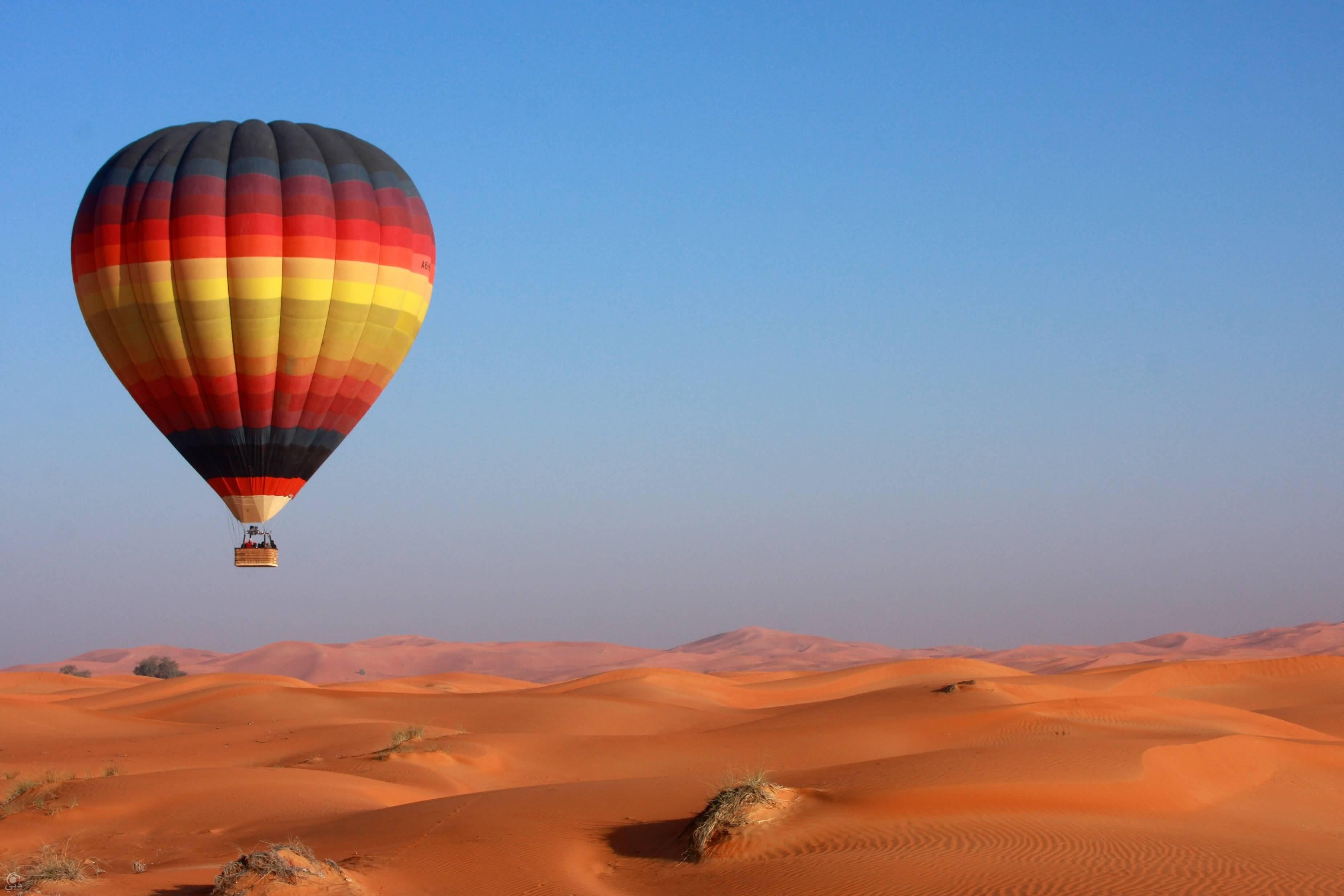 رحلات المنطاد … أجمل مغامرات هوائية في دبي