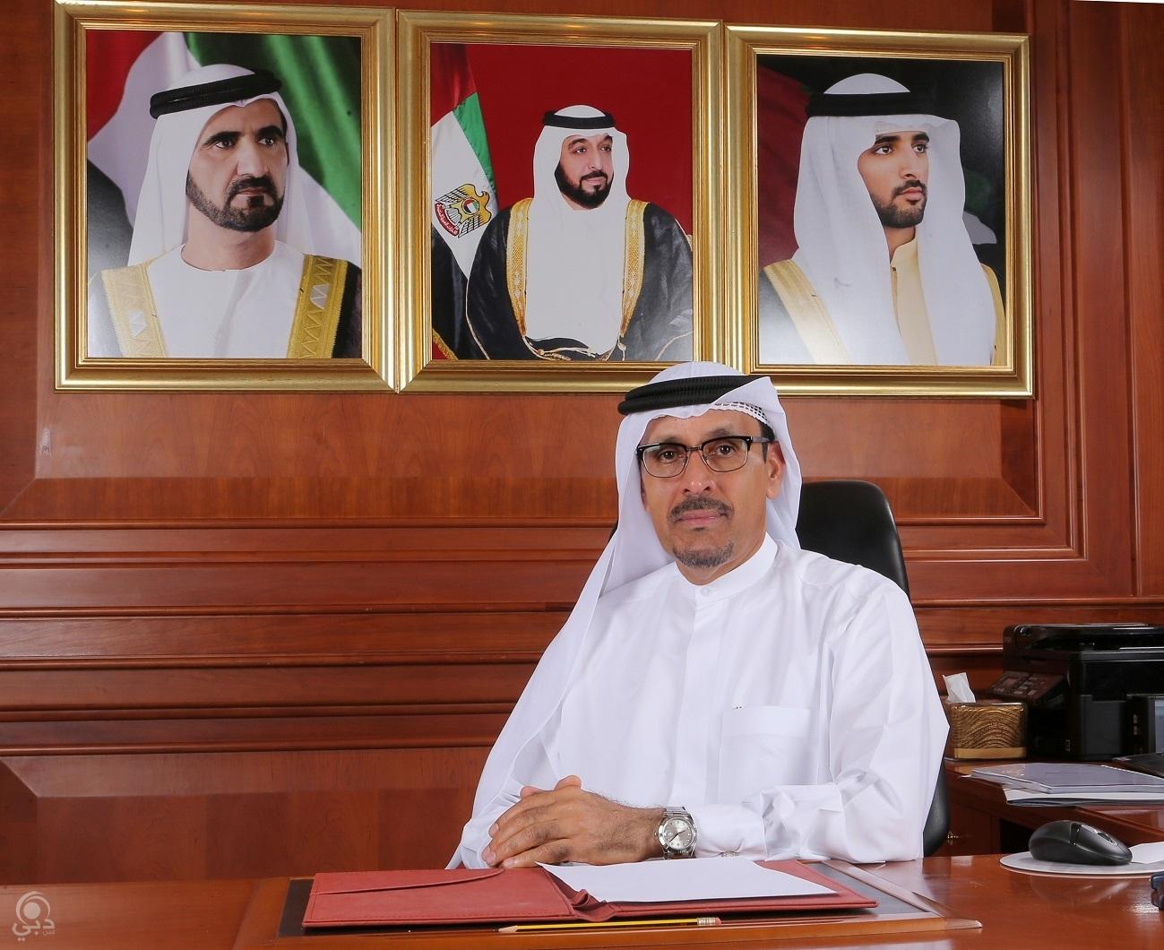 طارش عيد المنصوري: 69% مستوى سعادة متعاملي محاكم دبي