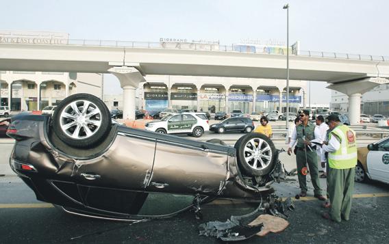 4 إجراءات جديدة للحد من حوادث السير في دبي