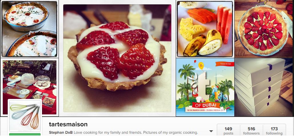 لا تفوت فرصة تذوق TartesMaison للمأكولات العضوية في مذاق دبي