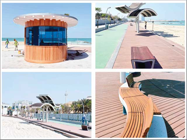 كورنيش جميرا المنطقة الأكثر شعبية في دبي