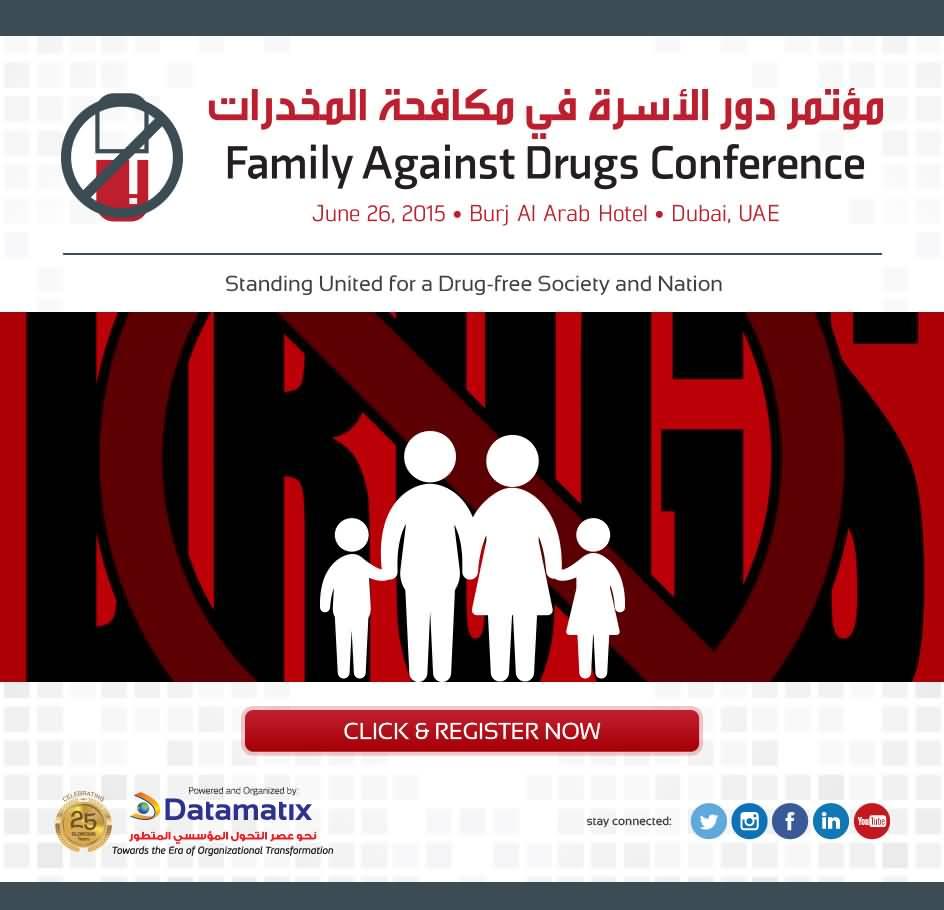 Photo of دبي تستضيف مؤتمر دور الأسرة في مكافحة المخدرات