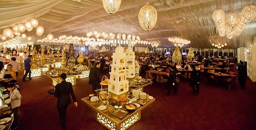خيمة أساطير الرمضانية في دبي