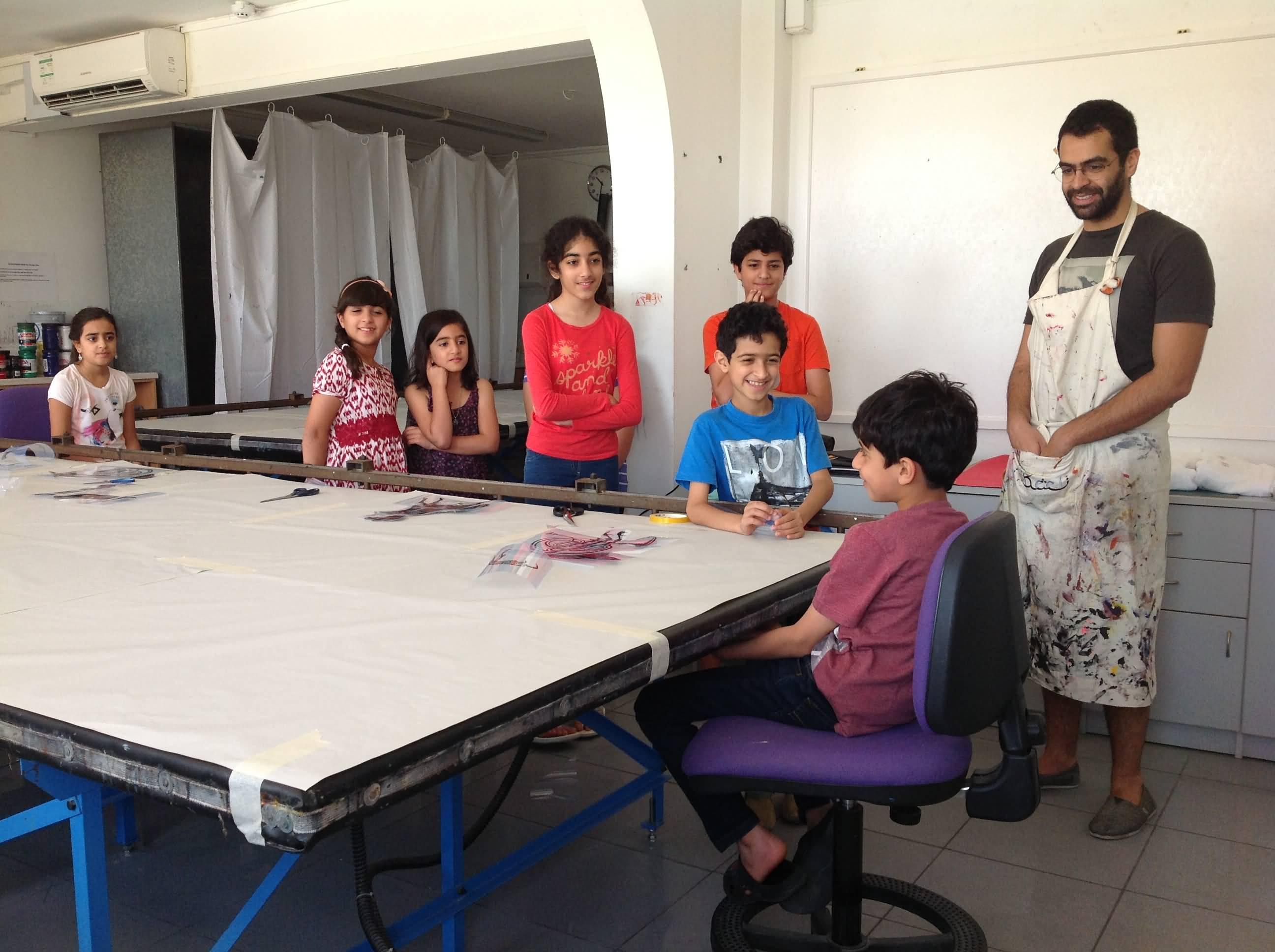 Photo of مركز تشكيل يعلن عن برنامج المخيم الصيفي 2015