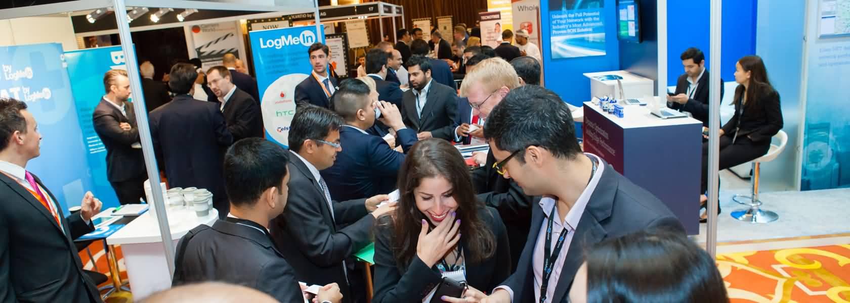 معرض عالم الاتصالات في الشرق الأوسط 2015