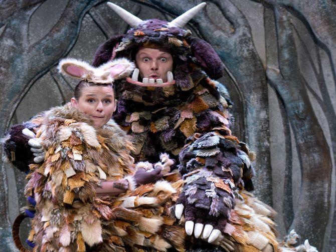 مسرحية ذا جرافالو تفتتح أبوابها لجمهورها بدبي خلال سنة 2015