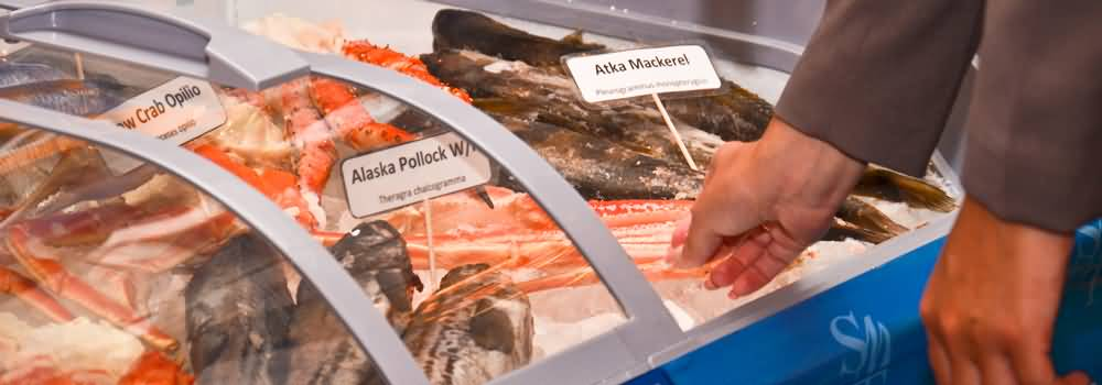 المعرض التاسع للمأكولات البحرية 2015 في دبي