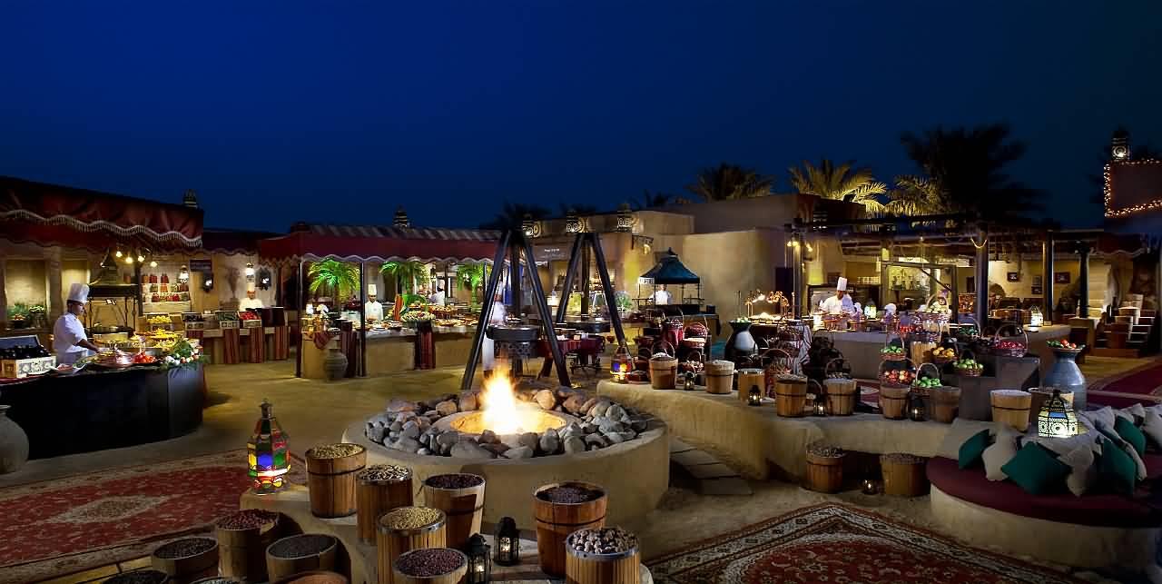 احتفل بعيد الأضحى بأسلوب عربي بامتياز في منتجع وسبا باب الشمس الصحراوي