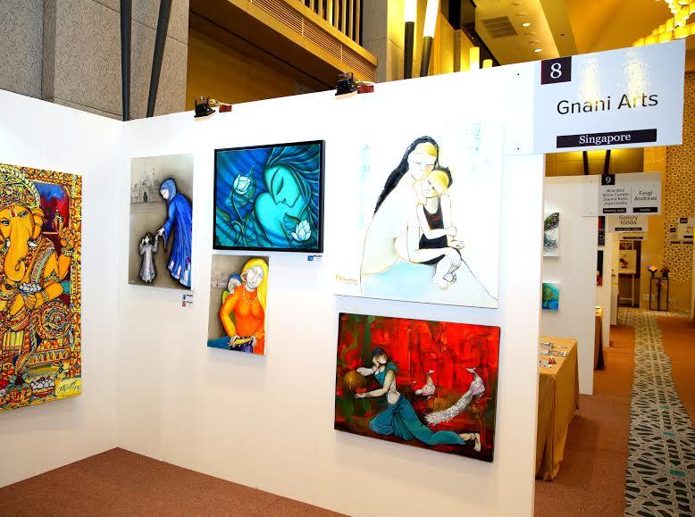 دبي تستضيف المعرض الفني العالمي آرت فير 2015