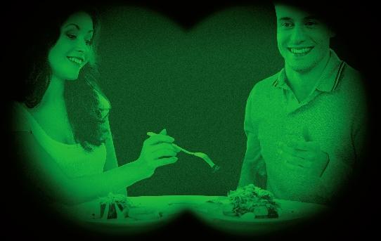 صورة مطعم نوار يقدم تجربة تناول الطعام العالمي في الظلام الحالك بدبي