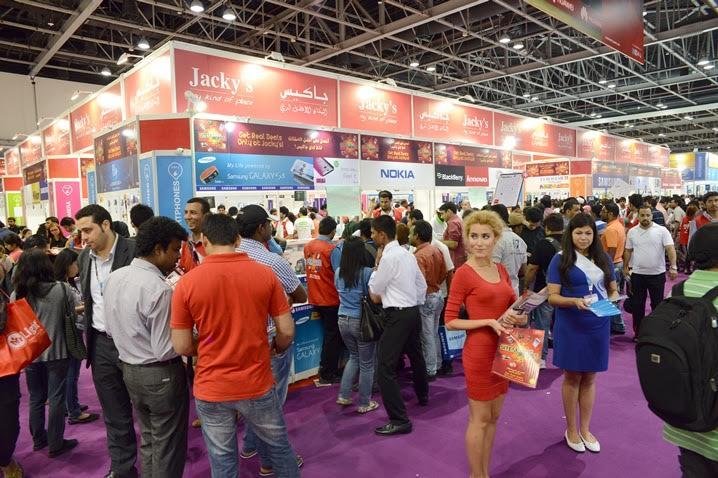 'جاكيس للإلكترونيات' توفر تجربة تسوق فريدة من نوعها لزوار معرض 'جيتكس شوبر 2015'