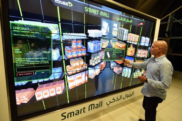 دبي تقدم مفهوم المول الذكي … الأول من نوعه في العالم