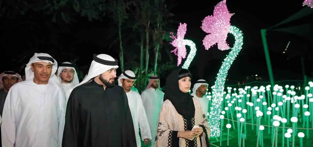Photo of بالفيديو … جولة في حديقة دبي جاردن جلو