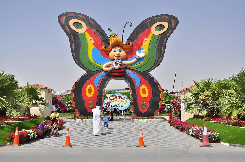 حديقة دبي للفراشات تفتتح أبوابها للجمهور يوم 17 ديسمبر 2015