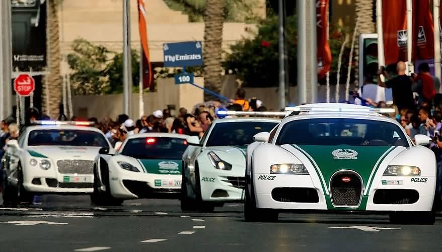 5 حقائق مذهلة عن سيارات الشرطة في دبي