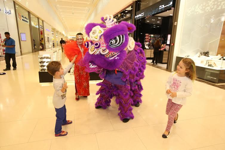 مراكز سيتي سنتر تنجح في الإحتفال بالسنة الصينية الجديدة 2016