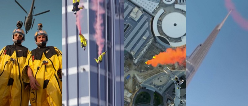 Photo of بالفيديو .. مشاهد بزاوية 360 درجة من الأعلى في دبي