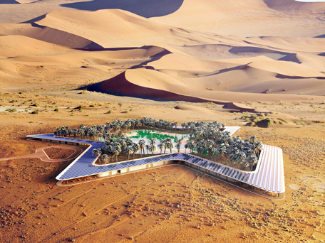 أوسيس إيكو ريزورت .. أكبر منتجع صديق للبيئة في العالم