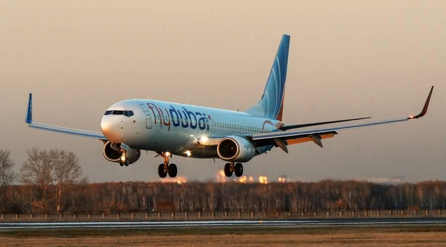 بالفيديو .. لحظة تحطم طائرة تابعة لفلاي دبي في روسيا