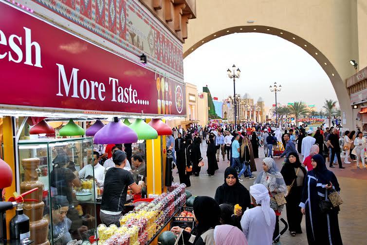 القرية العالمية تحتفل بمهرجان دبي للمأكولات 2016