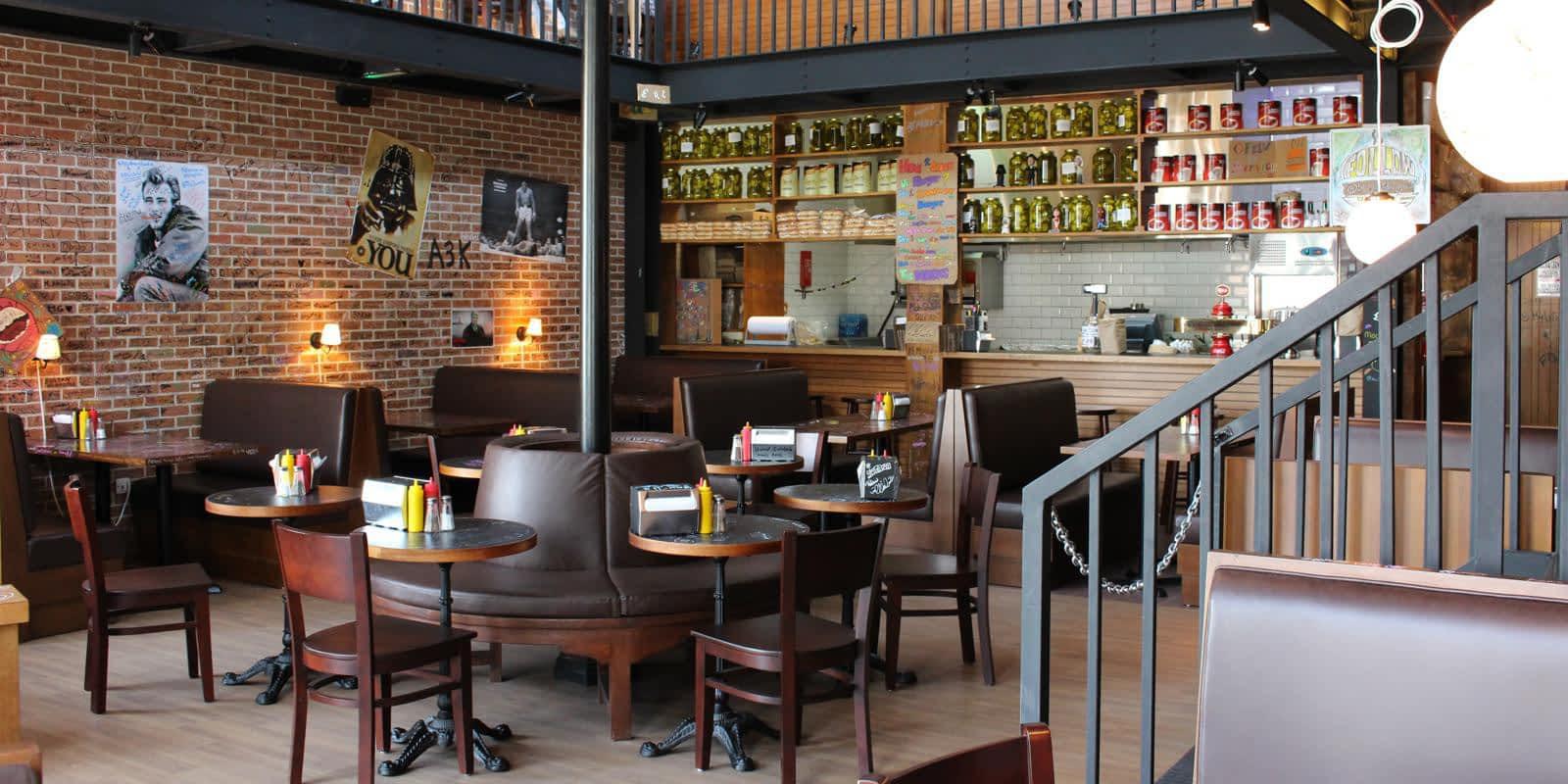 مطعم برغر جوينت للمأكولات الأمريكية – سيتي ووك