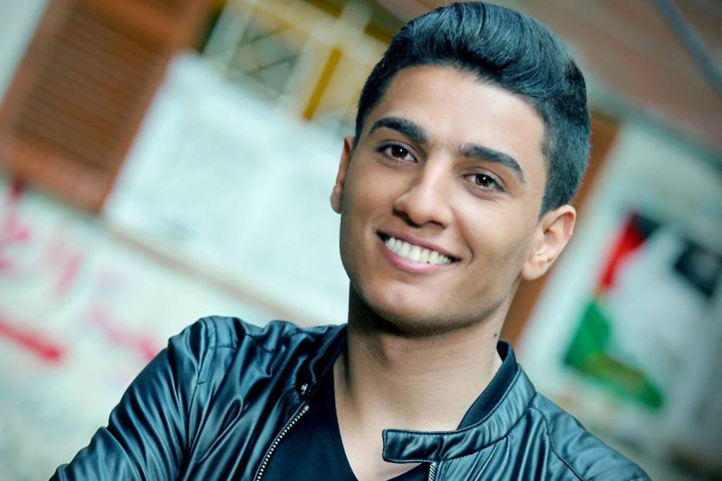 حفل المغني الموهوب محمد عساف في دبي خلال سنة 2016